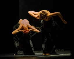 """COBIJADAS  """"Instalación coreográfica"""" Compañía Antonio Ruz"""